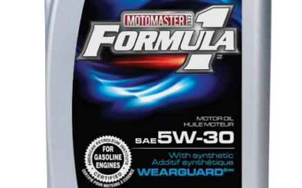 Huile à moteur Formula 1 de Canadian Tire