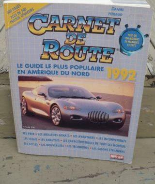 l'édition 1992 du Carnet de Route