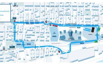 Tracé de l'événement FIA Formule E 2017 à Montréal ePrix
