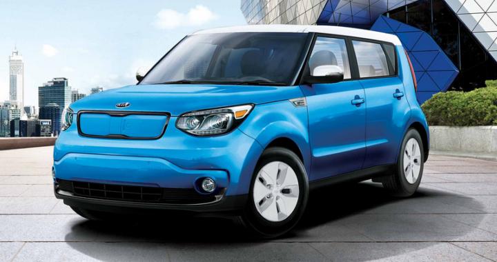 2016 Kia Soul EV - tiré du site de Kia Motors Canada