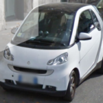 Beaucoup de voitures SMART à Rome