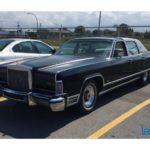1977 Lincoln Continental Town Car notre trouvaille de la semaine du 2 janvier 2017