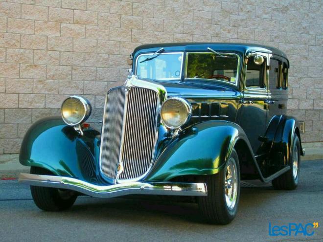 1933 Chrysler Royal 8 Hot Rod Sedan Notre Trouvaille De La
