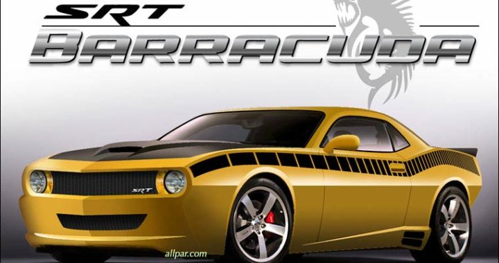 2019 ou 2020 Dodge SRT Cuda. Photo tirée du site allpar.com