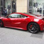 Rencontre inattendue d'une Acura NSX aux festivités du Grand Prix de Montréal