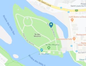 'Île-des-Moulins à Terrebonne