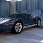 Tour de piste avec une Ford GT