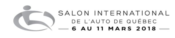 Salon International de l'auto de Québec 2018