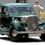 Auto verte en Espagne