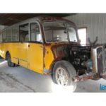 Autobus 1951 Saurer, notre trouvaille de la semaine du 19 février 2018