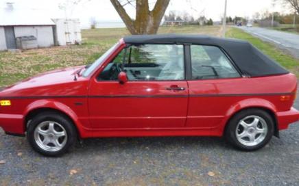 1990 Volkswagen Golf Cabriolet
