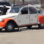 Citroën 2CV à Pointe-du-Lac