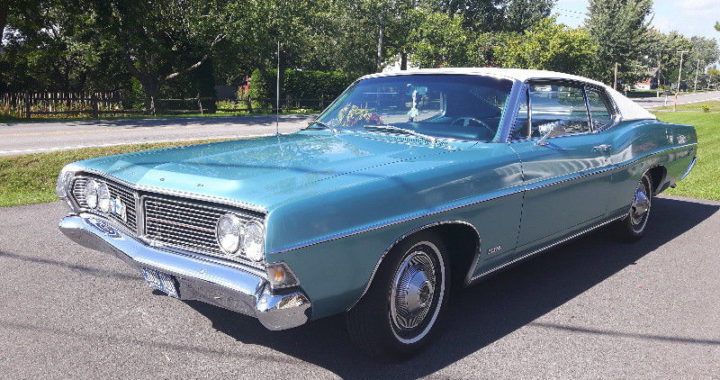 1968 Ford Galaxie 500 fastback, trouvaille du 9 juillet 2018