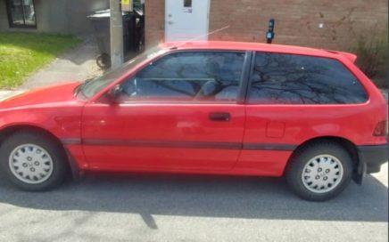 1990 Honda Civic CX