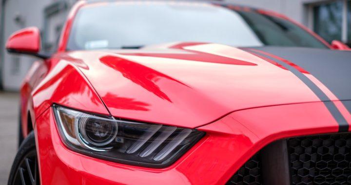 Une Mustang au Detroit Auto Show