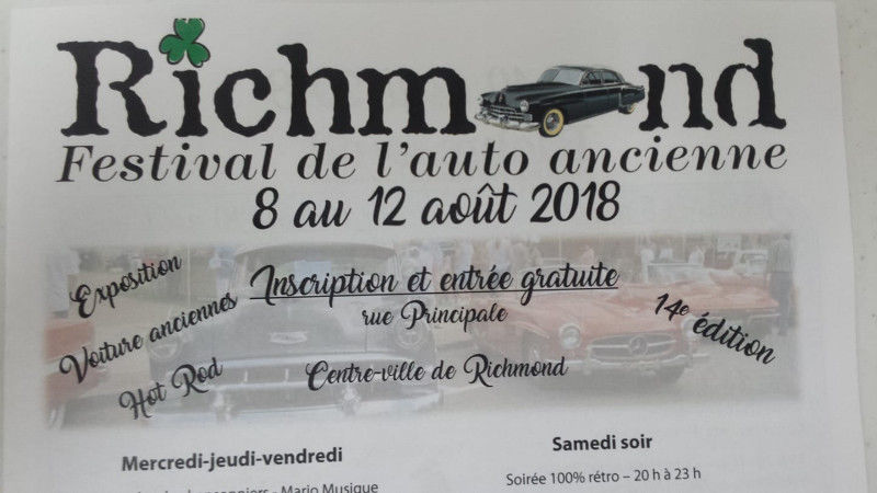 Festival de l'auto ancienne de Richmond