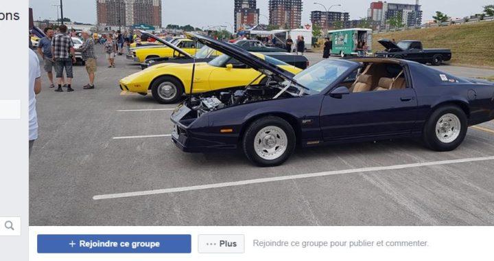 Les propriétaires de voitures sports anciennes s'organisent sur Facebook