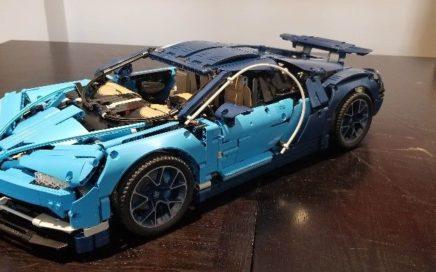 Bugatti Chiron en Lego