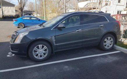 2010 Cadillac SRX4