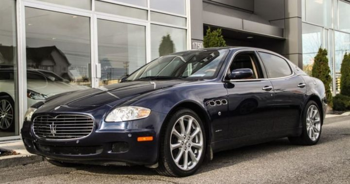 2005 Maserati Quattroporte Duoselect Executive Edition