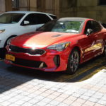 Joli Kia Stinger à New York