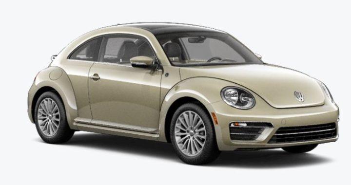 La dernière Beetle de Volkswagen sort d'usine
