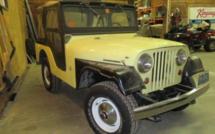 1966 Jeep CJ5 Tuxedo
