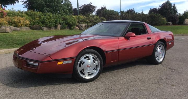 1989 Chevrolet Corvette Targa
